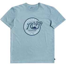 Quiksilver Into The Wild SS Tee Men, blue heaven